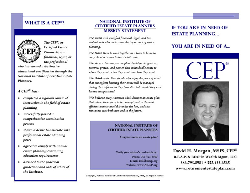 CEP-Brochure
